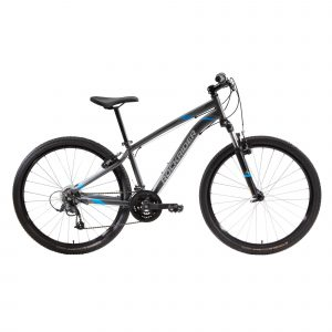 Rockrider Mountainbike ST 100 3x7 speed microshift/shimano grijs