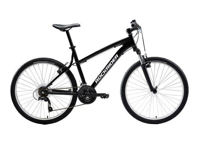 "Rockrider Mountainbike ST 50 26"" 3x7 speed microshift/shimano zwart"