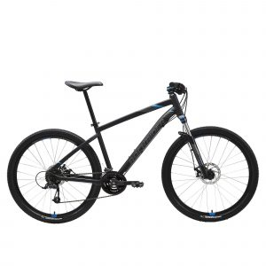 "Rockrider Mountainbike ST 520 27.5"" 3x8 speed microshift/shimano zwart"