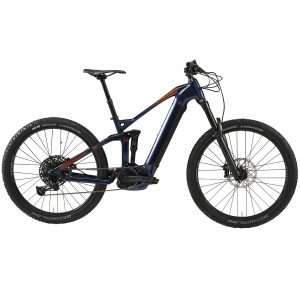 "Stilus Elektrische full suspension mountainbike E-AM 100S 27.5""+ blauw"