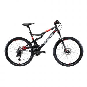 "Rockrider Mountainbike Full Suspension ST 520 27.5"" Shimano/SRAM 3x8-speed"