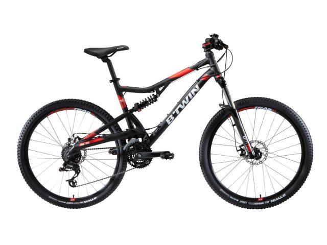 "Rockrider Mountainbike Full Suspension ST 520 27.5"" Shimano/SRAM 3x8-speed"