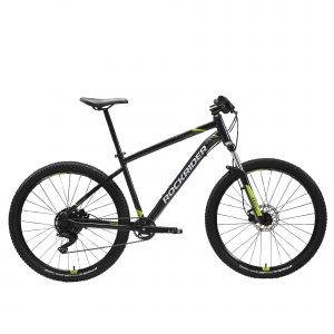 "Rockrider Mountainbike ST 530 27.5"" 1x9 speed rockrider/microshift zwart"