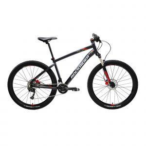 "Rockrider Mountainbike ST 540 27.5"" 2x9 speed microshift/shimano zwart/rood"