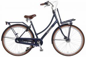 Popal - Daily Dutch Prestige N3 Rb S 28 Inch 57 Cm Dames 3v Rollerbrake Donkerblauw