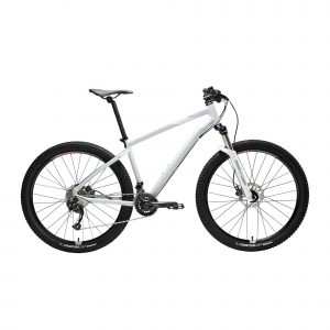 "Mountainbike dames st 540 27.5"" 2x9 speed shimano/sram grijs/roze"