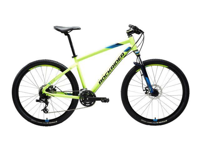 "Mountainbike st 520 27.5"" 3x8 speed microshift/sram geel"