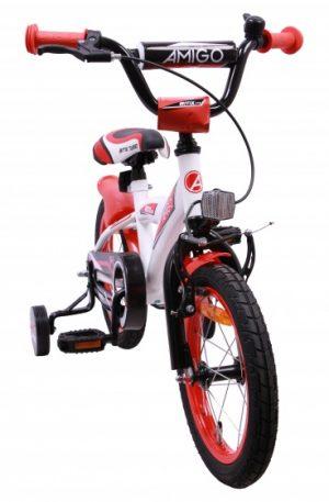 AMIGO BMX Turbo 14 Inch 21 cm Jongens Terugtraprem Wit