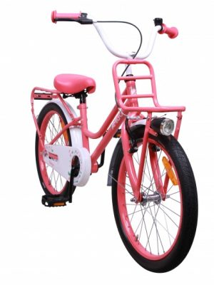 AMIGO Magic 20 Inch 28 cm Meisjes Terugtraprem Roze