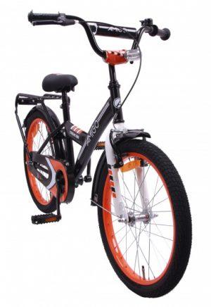 AMIGO Xtreme Kids 20 Inch 33 cm Jongens Terugtraprem Zwart/Oranje