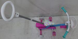 Volare Baby Shark 10 Inch 18 cm Junior Doortrapper Blauw/Roze